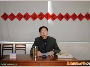 著名书法家谢雪贵先生来校应邀赴昆山国际学校上课