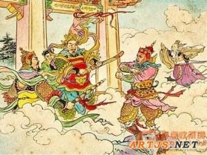 50年代西游记连环画原稿亮相西泠拍卖